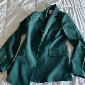 Emerald color blazer (Nordstrom)